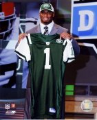 Vernon Gholston Draft Day Jets 8X10 Photo