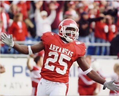 Felix Jones (Dallas Draft Pick) Arkansas 8X10 Photo