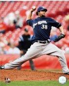 Eric Gagne Milwaukee Brewers 8x10 Photo