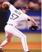 Trever Miller Tampa Bay Devil Rays 8X10 Photo