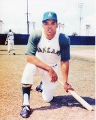 Reggie Jackson Oakland A's 8X10 Photo - SUPER SALE - Slightly Blurry