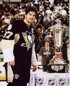Sidney Crosby 2008 Conference Trophy 8x10 Photo