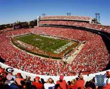 Sanford Stadium Georgia Bulldogs 8X10 Photo