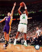 Paul Pierce Game 1 Finals 2008 LIMITED STOCK Celtics 8X10 Photo