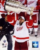 Tomas Holmstrom 2008 Stanley Cup Red Wings 8x10 Photo