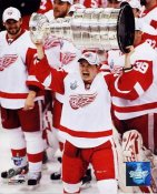 Jiri Hudler 2008 Stanley Cup Red Wings 8x10 Photo