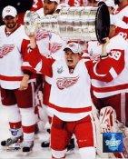 Jiri Hudler 2008 Stanley Cup Red Wings 8x10 Photo