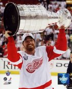 Mikael Samuelson LIMITED STOCK 2008 Stanley Cup Red Wings 8x10 Photo