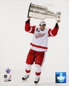 Pavel Datsyuk 2008 Stanley Cup Red Wings 8x10 Photo