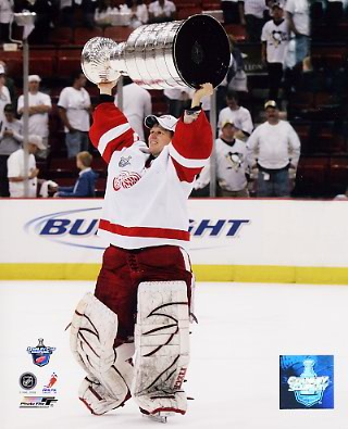 Chris Osgood 2008 Stanley Cup LIMITED STOCK Red Wings 8x10 Photo