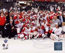 Detroit 2008 Celebration on Ice Stanley Cup Champs Red Wings 8x10 Photo