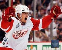 Jiri Hudler Game 4 Winning Goal 2008 Stanley Cup Red Wings 8x10 Photo