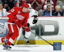 Pavel Datsyuk Game 1 2008 Stanley Cup Red Wings 8x10 Photo