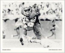Roger Craig Team Issue Rare 49ers 8X10 Photo