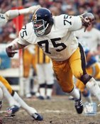 Joe Greene Pittsburgh Steelers SATIN 8x10 Photo LIMITED STOCK