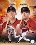 Craig Biggio / Jeff Bagwell Portrait Plus Houston Astros 8X10 Photo LIMITED STOCK