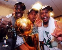 Ray Allen / Paul Pierce / Kevin Garnett 2008 Champs Celtics 8X10 Photo LIMITED STOCK