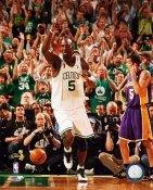 Kevin Garnett Game 6 Finals 2008 LIMITED STOCK Celtics 8X10 Photo