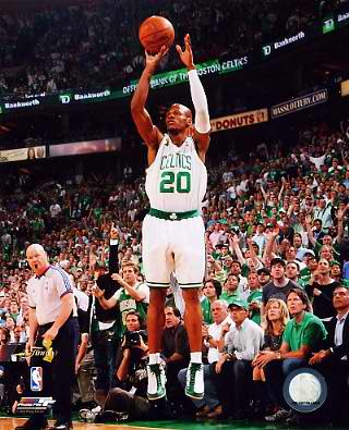 Ray Allen Game 6 Finals 2008 Celtics 8X10 Photo LIMITED STOCK
