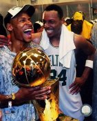 Ray Allen / Paul Pierce LIMITED STOCK 2008 Champs Celtics 8X10 Photo
