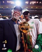 Bill Russell / Kevin Garnett 2008 Champs Celtics 8X10 Photo LIMITED STOCK