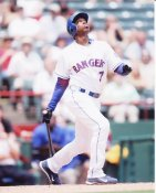 Kenny Lofton Texas Rangers 8X10 Photo