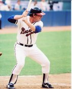 Ted Simmons Atlanta Braves 8X10 Photo