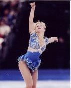Nicole Bobek Ice Skating 8X10 Photo