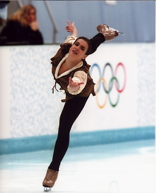 Katarina Witt Ice Skating LIMITED STOCK 8X10 Photo