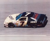Alan Kulwicki Army Car 8X10 Photo   LIMITED STOCK