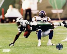 Santana Moss G1 OUT OF PRINT Jets 8X10 Photo
