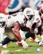 Daryl Gardener G1 OUT OF PRINT Dolphins 8X10 Photo