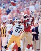 JJ Stokes San Francisco 49ers 8X10 Photo