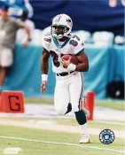 Dedrick Ward G1 OUT OF PRINT Dolphins 8X10 Photo