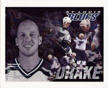 Dallas Drake St. Louis Blues 8x10 Photo