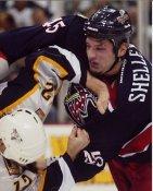 Jody Shelley Columbus Blue Jackets 8x10 Photo