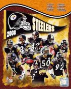 Steelers 2008 Pittsburgh Team LIMITED STOCK 8x10 Photo