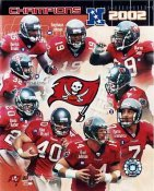 Mike Alstott, Ronde Barber, Warren Sapp Bucs 8X10 Photo