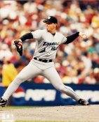 Tony Saunders G1 OUT OF PRINT Devil Rays 8X10 Photo