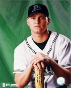Jace Brewer G1 OUT OF PRINT Devil Rays 8X10 Photo
