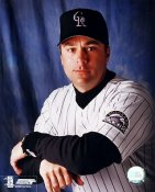 Todd Ziele Colorado Rockies 8x10 Photo