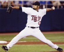 Johan Santana Minnesota Twins 8X10 Photo