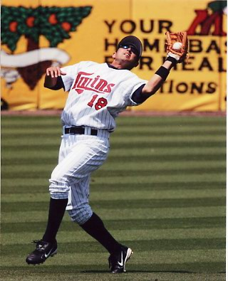 Jason Bartlett Minnesota Twins 8X10 Photo