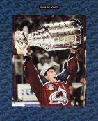Joe Sakic 1996 Stanley Cup Avalanche 8x10 Photo