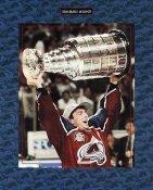 Joe Sakic 1996 Stanley Cup Avalanche 8x10 Photo