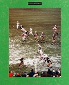 Jerome Bettis 2 Point Conversion (Story on back of photo) Notre Dame vs Penn State 11-12-92 8X10 Photo