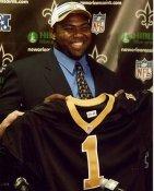 Johnathan Sullivan Draft Day New Orleans Saints 8X10 Photo