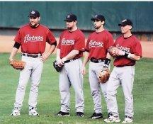 Brad Ausmus, Lance Berkman, Jeff Bagwell, Craig Biggio Houston Astros 8X10 Photo