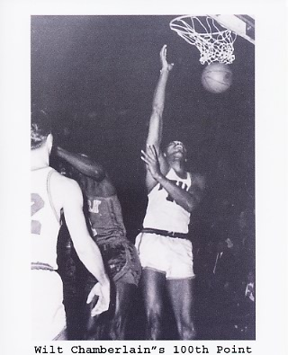 Wilt Chamberlain 100th Point Philadelphia 76ers 8x10 Photos LIMITED STOCK