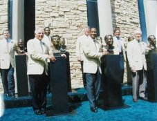 Lynn Swann, Nick Buoniconti, Mark Levy, Mike Munchak, Jackie Slater, Ron Yary, Jack Youngblood 11X14 HOF Photo 11X14